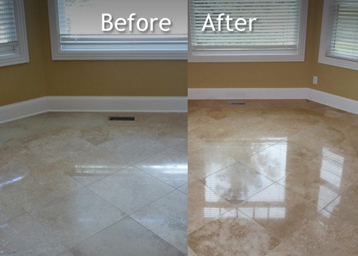 Leicester Marble Floor Restoration