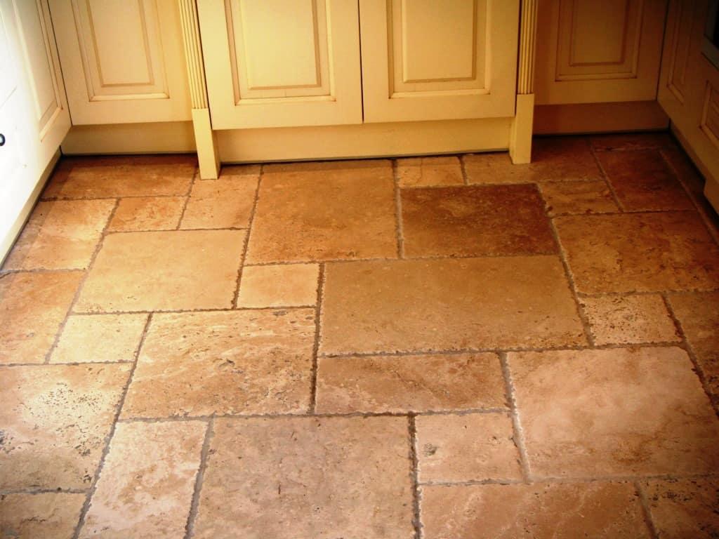 Leicester Travertine Tile Floor Restorationpolishing Tilestone