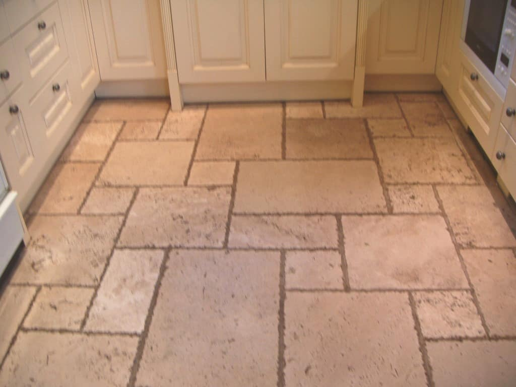 Leicestershire travertine tile floor cleaning oadby tilestone leicester travertine tile floor restorationpolishing dailygadgetfo Choice Image