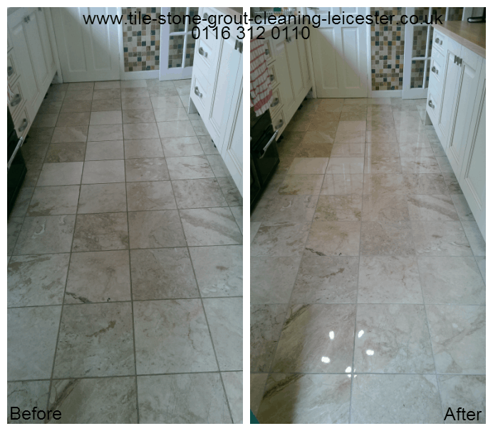 Marble floor polishing in Coalville