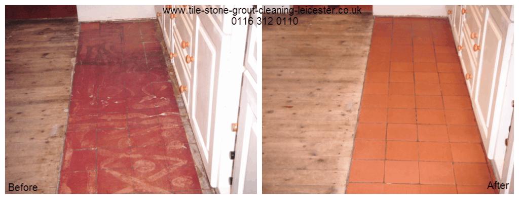 Old Quarry Tiled Hard Floor Clean Lutterworth