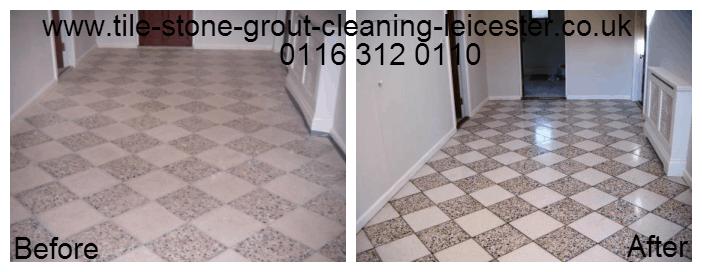 Terrazzo Tiled Stone Floor Polishing Shepshed